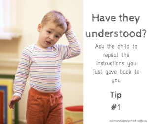 Have they understoond? Tip 1